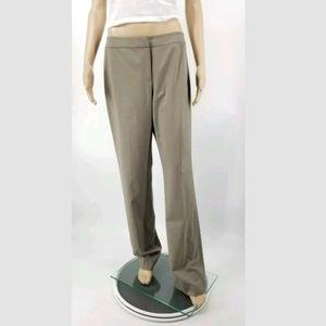 Lafayette 148 Barrow Pants Size 8 Straighteg Taupe